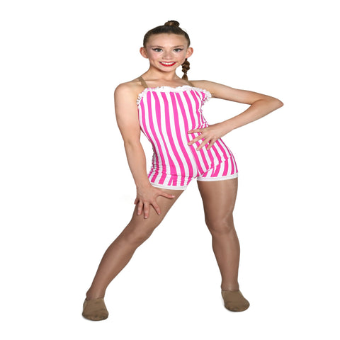"""By the Seaside"" Custom made Jazz costume - Girl's 10-12 yrs (Second hand)"