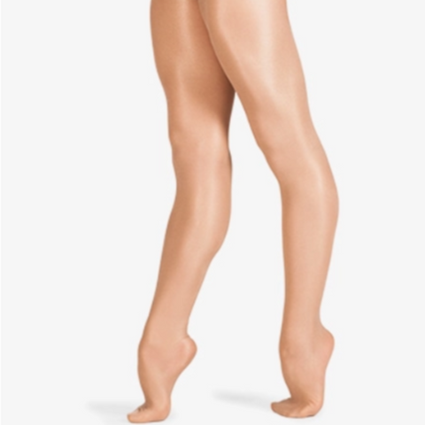 Footed Shimmer Stockings - Dancewear CN