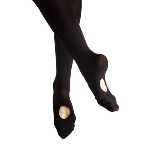 Child's Convertible Stockings - Black