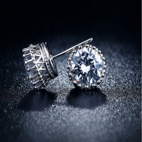 Cubic Zirconia Dance Earrings