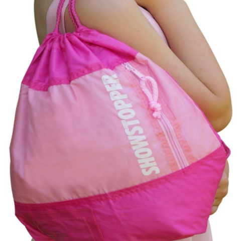 Drawstring Dance Bag/ Dance Shoe Bag -SHOWSTOPPER®