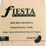Adult's Footed Stockings -  Theatrical Pink - Fiesta
