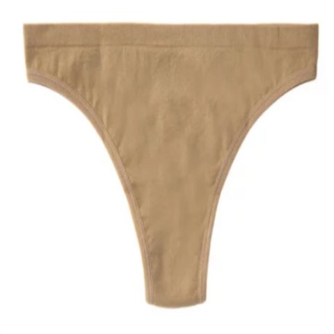 "Seamless Flesh Coloured ""Thong"" Underwear"
