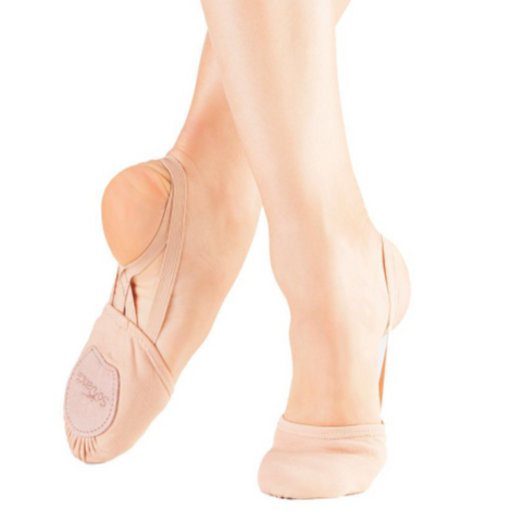 Half Ballet/Lyrical/Modern Shoes - Canvas