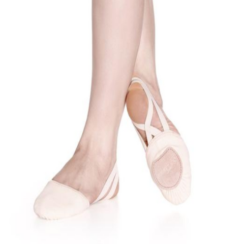 Lyrical Contemporary Half Ballet Shoes - Leather