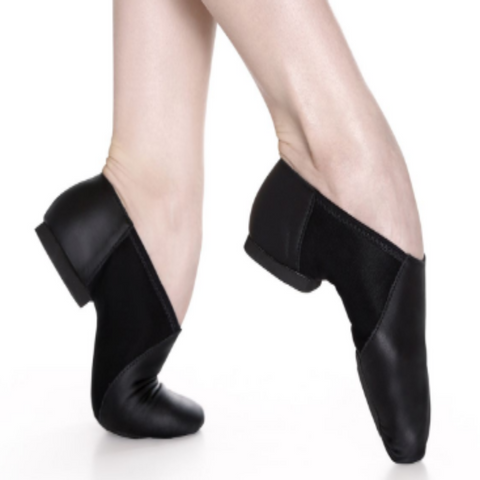 Jazz Shoes (Black & Tan) - So Danca