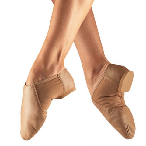 Jazz Shoes (Tan/Caramel) - So Danca