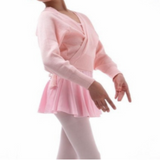 Primrose Knitted Crossover Ballet Cardigan