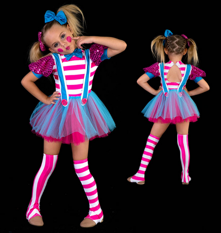 """Livin Doll"" Costume Glitz Lyrical Costume - Girl's size 8 (Second hand)"