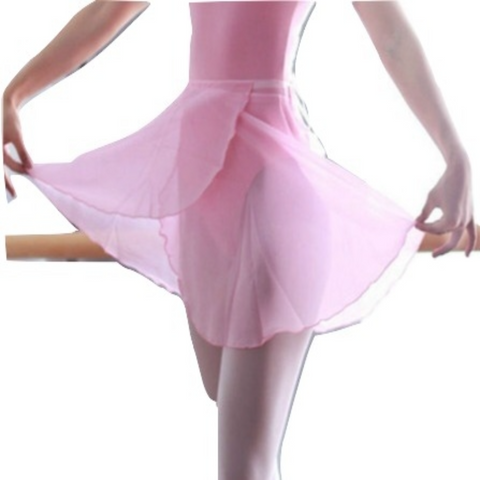 Lotus Tie Wrap Ballet Skirt