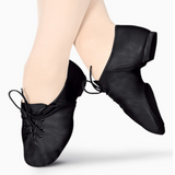 Jazz Shoes - Lace Up (Black & Tan) - Below Cost Price - Limited Sizes