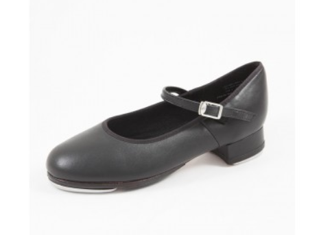 Buckle Tap Shoes in Tan & Black - Slick Dancewear