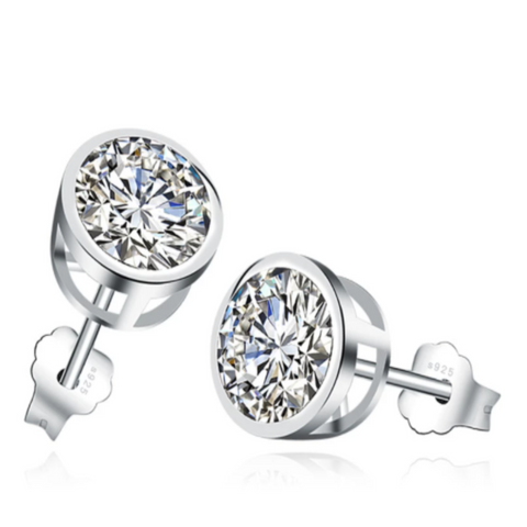 Tennis Crystal Stud Dance Earrings
