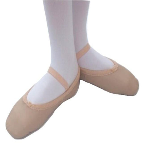 Ladies' Split Sole Leather Ballet Shoes - only a couple of sizes left at this price!