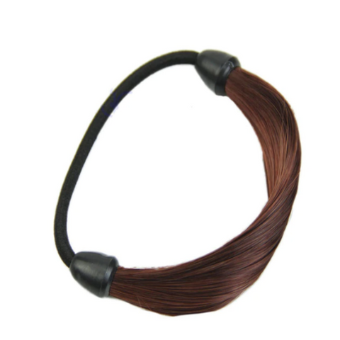 Synthetic hair wrap around