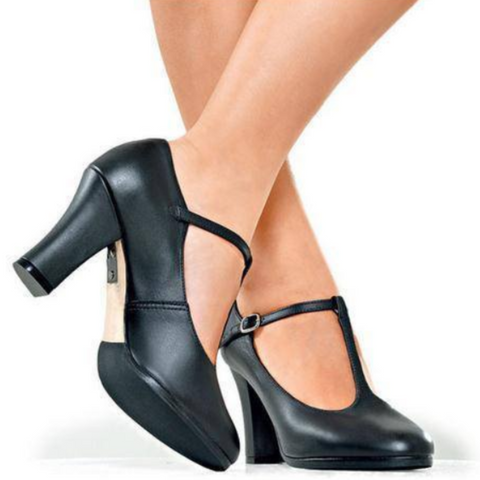 "T-Bar 7.5cm (3"") Chorus Shoes/Heels"