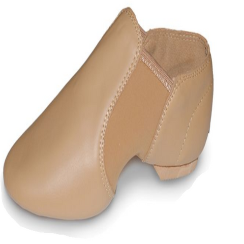 Jazz Shoes Child's sizes Budget price (Black & Tan) - DanceYou
