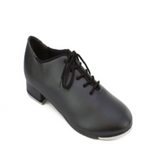 Beginner's Basic Lace Up Black Tap Shoes - So Danca