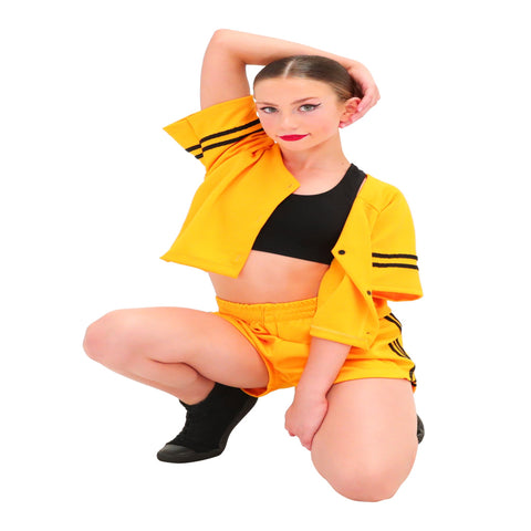 New York Hip Hop Costume -2 x Girl's 10-12 Yrs  (Second Hand)