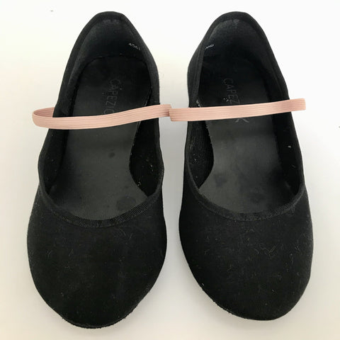 Capezio Character Shoes Cuban Heeled (Size 6 Ladies') - Second Hand