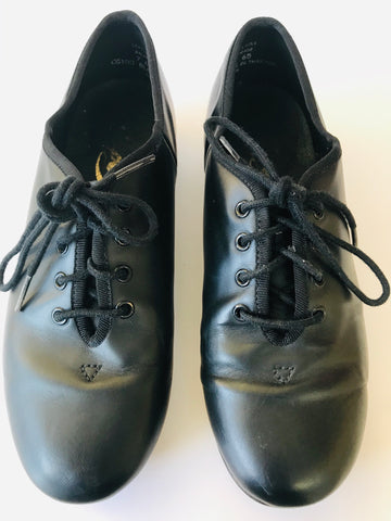 Capezio Oxford Style Lace Up Tap Shoes (Size 7M) - Second Hand