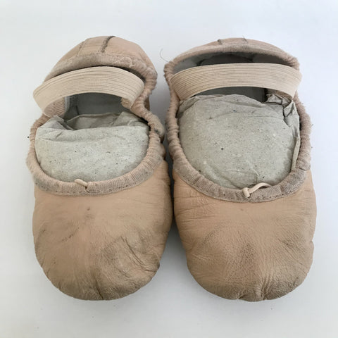 Bloch Ballet Shoes (Girl's size 12A) - Second Hand