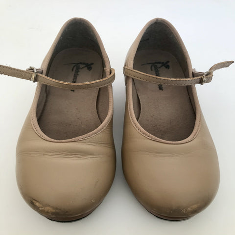 SLICK DOUBLE SOLED TAP SHOES (GIRL'S SIZE US3) - SECOND HAND