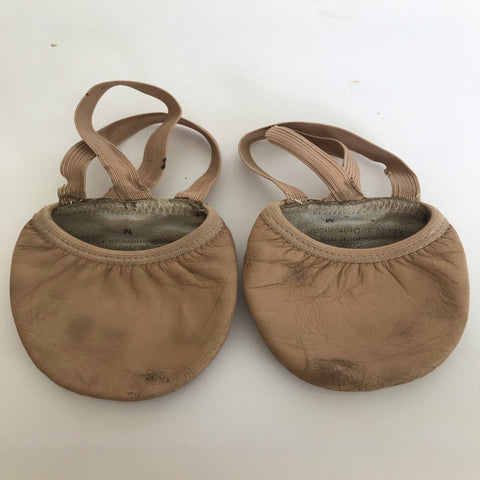 Half Ballet leather Lyrical/Contemporary Shoes - Second Hand