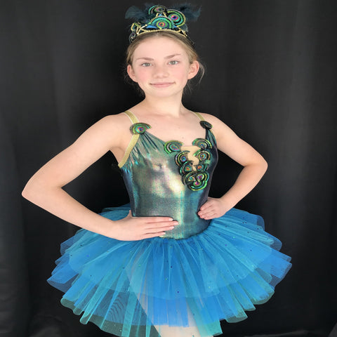 """Tiki""Musical Theatre/Jazz  Costume - Girl's 10-12 yrs (Second Hand)"