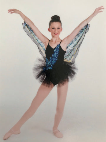 """Butterfly Ballerina"" Demi/Ballet Costume - Girl's size IC & LC (Second Hand)"