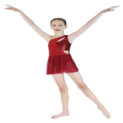 """Breathing"" Lyrical/Contemp Costumes - Girl's 7-8 yrs & 10-12 yrs (Second hand)"
