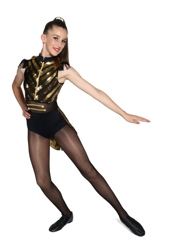 """Born this Way"" Weissman Jazz/Tap Costume - Sizes IC & LC (Second Hand)"