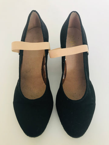 Bloch Character Shoes Cuban Heeled (Size 7 Ladies') - Second Hand