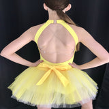 """You are my sunshine"" Demi/Ballet/Jazz/ Musical Theatre Custom made costume - Girl's 12 yrs (Second Hand)"