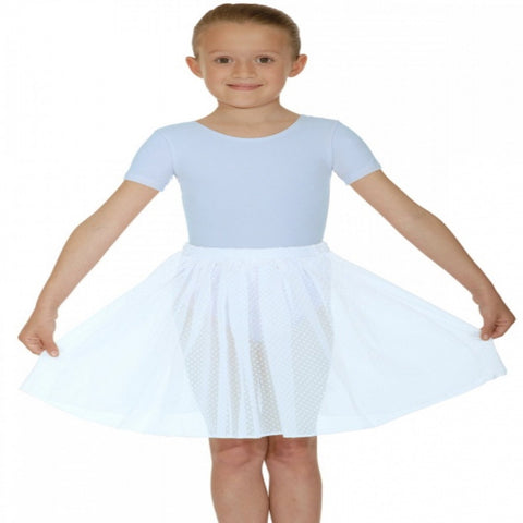 Bloch voile elasticated ballet skirt - Girl's size CHM (Second Hand)