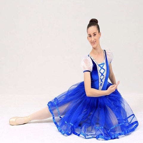 """Blue Danube"" Ballet Costume - 2 x 10-12 yrs & 1 x 12-14 yrs (Second Hand)"