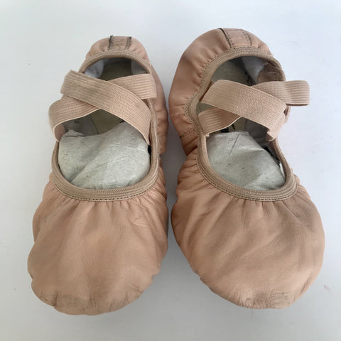 So Danca Split Sole Leather Ballet Shoes - Size 4.5B (Second Hand)