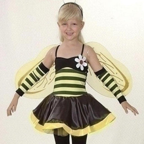 Bumble Bee Jazz/Tap Costume - Girl's size 5-7 yrs (Second Hand)