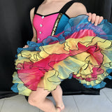 """Can Can"" Musical Theatre/Jazz/Tap Costume - Girl's size 10- 12yrs (Second Hand)"