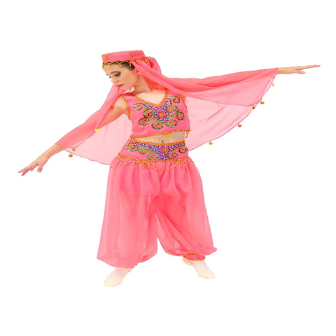 Arabian Nights Musical Theatre/Ballet/Jazz Costume Girl's 7-8 yrs & 10-12 yrs (Second Hand)