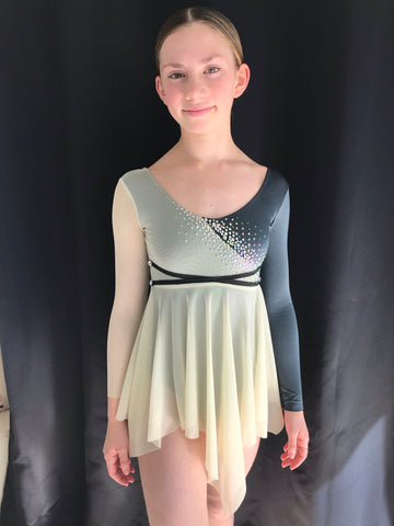 """Leave the Light On"" Lyrical/Contemporary/Modern/Ballet Costume - Size 12 (Second Hand)"