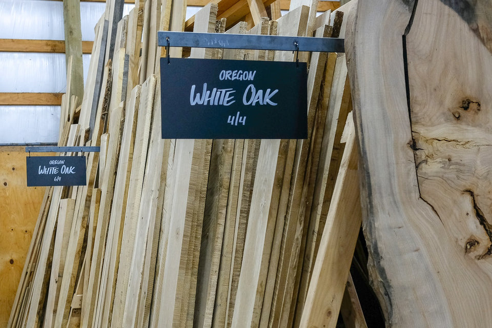 Oregon White Oak | Goby Walnut