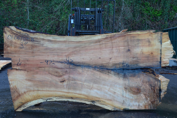 Big Leaf Maple Slab 010615-08