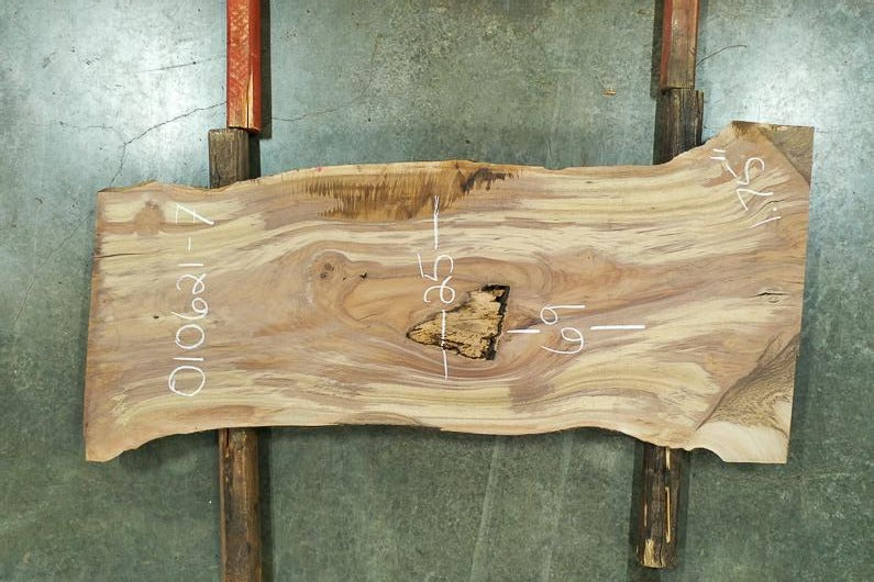 Oregon Black Walnut Slab 010621-07