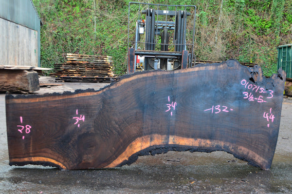 Oregon Black Walnut Slab 010715-03