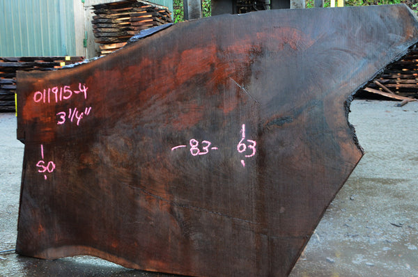 Oregon Black Walnut Slab 011915-04