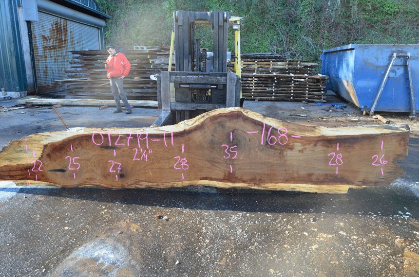 012719-11 Oregon White Oak Slab