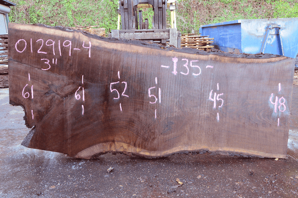 012919-04 Oregon Black Walnut Slab