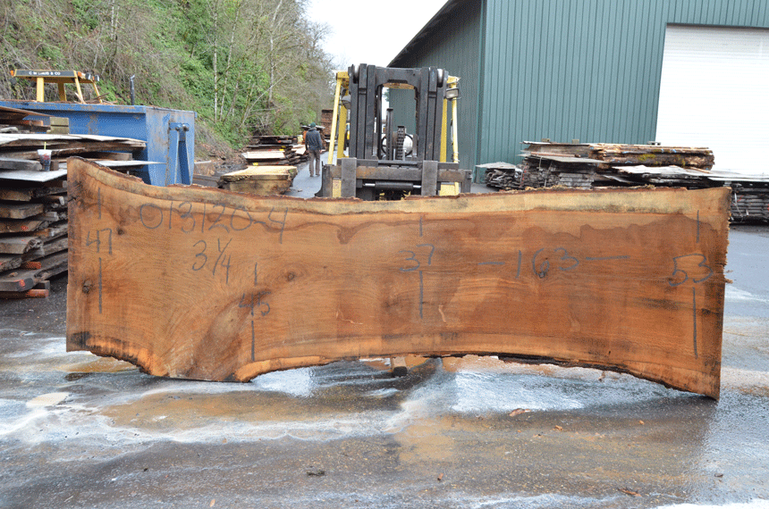 Oregon White Oak Slab 013120-04