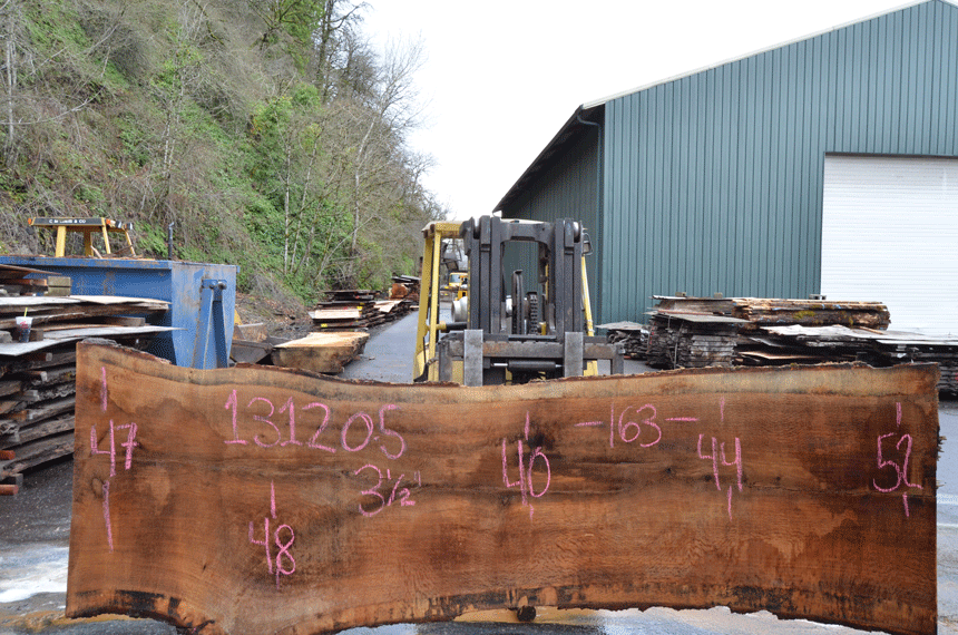 Oregon White Oak Slab 013120-05